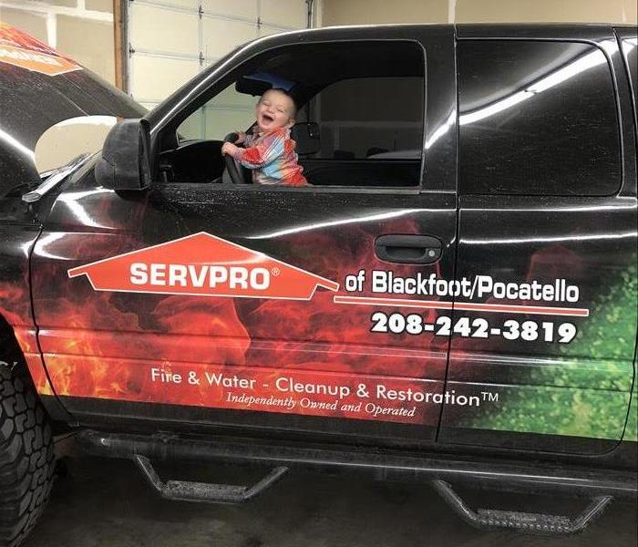 Why SERVPRO New truck!