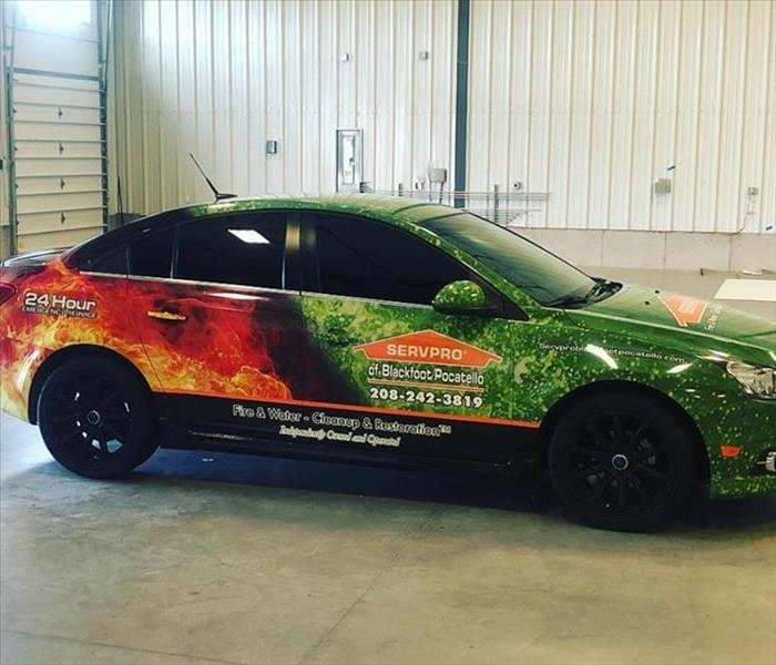 Why SERVPRO New Marketing Car!